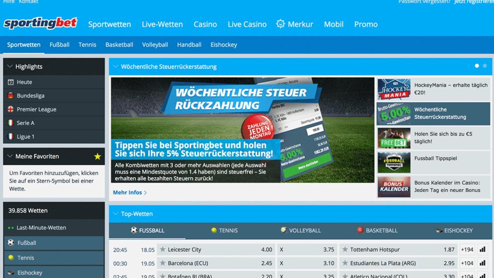 Sportingbet App für iPhone und Android im Test