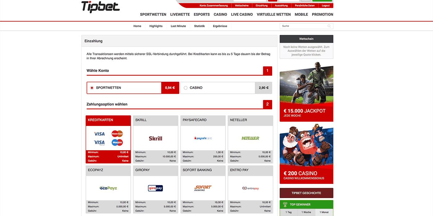 Sepa Sportwetten - Wettanbieter mit Sepa