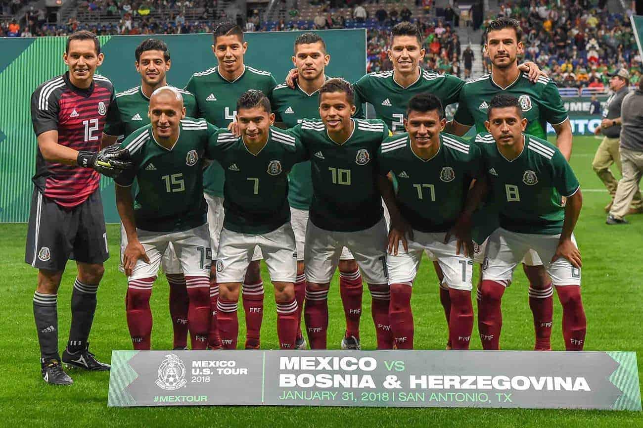 Fußball WM 2018 - wie stehen die Chancen, dass Mexiko Gruppensieger wird?