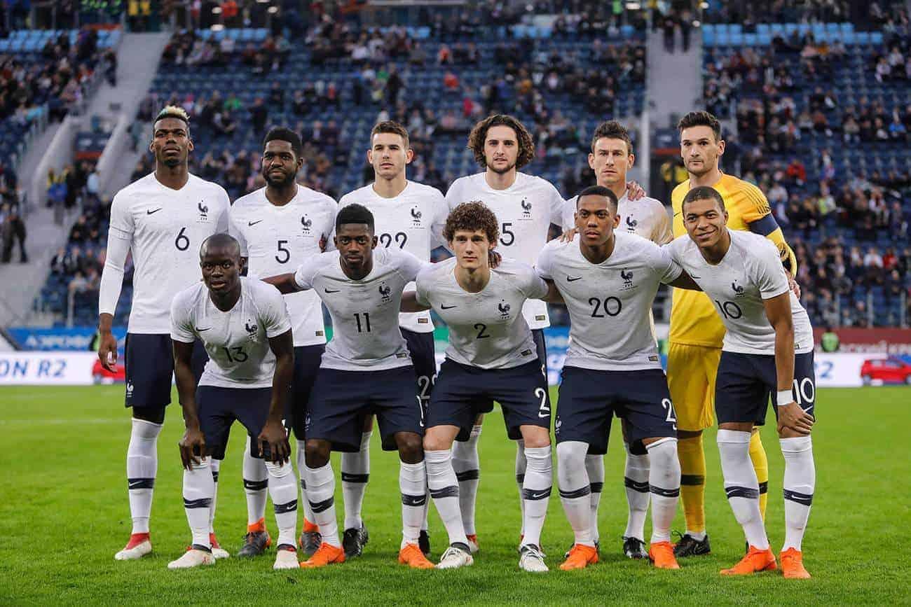 Wird Frankreich bei der Fußball WM 2018 Gruppensieger?