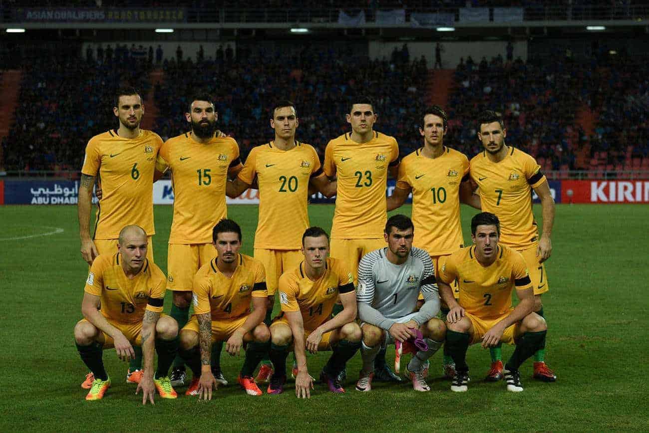 Wie hoch sind die Chancen, dass Australien bei der kommenden Fußball WM 2018 Gruppensieger wird?