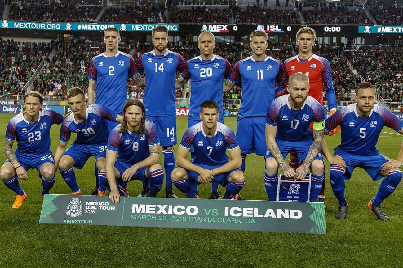 Kann Island bei der Fußball WM 2018 Gruppensieger werden?