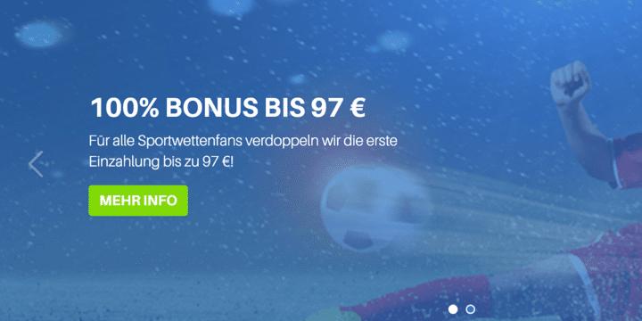 Schnellwetten Bonus