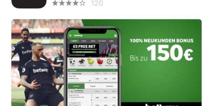 Sportwetten Apps Betway