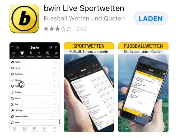 So gut ist die Sportwetten App von bwin