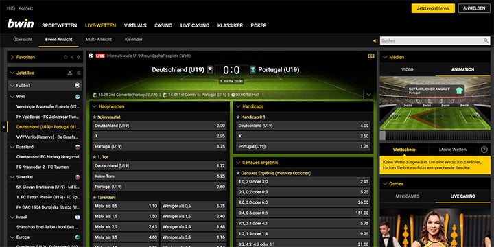 Bwin In-Play