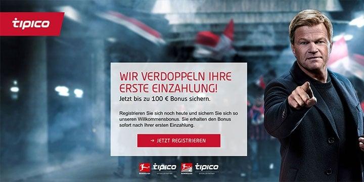 Tipico Sportwetten Bonus