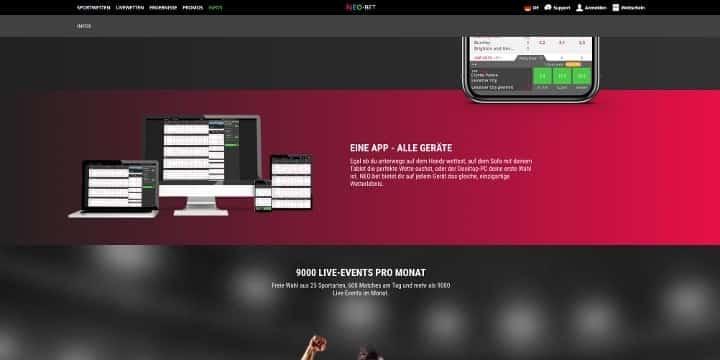 Neo.bet App