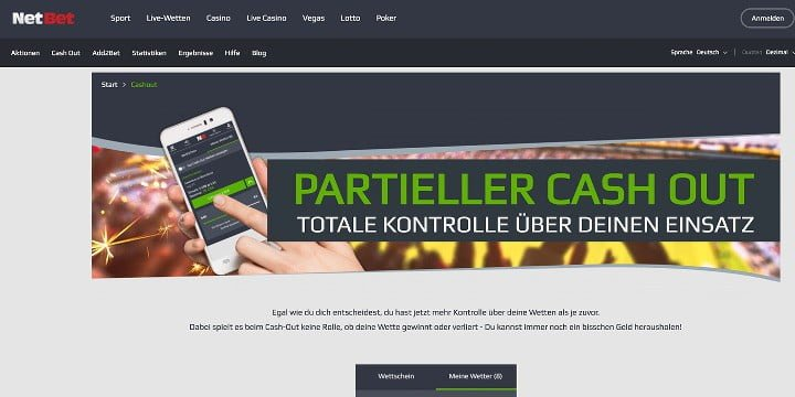 NetBet Cash-Out