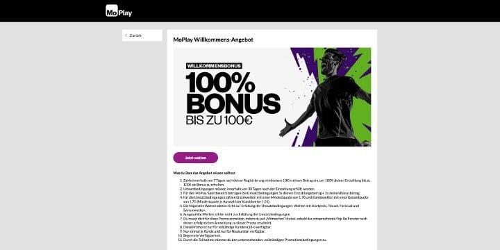 MoPlay Bonus