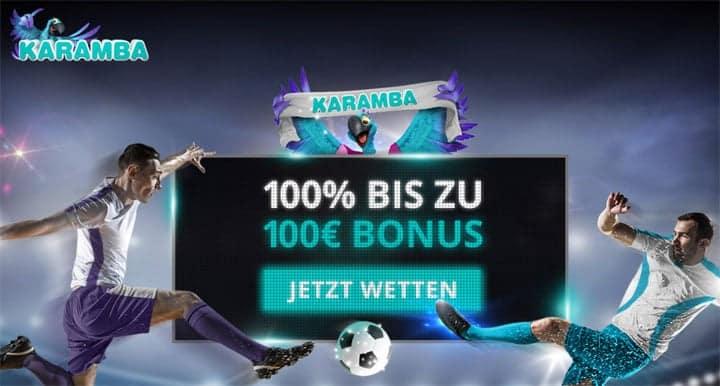 Karamba Sportwetten Bonus