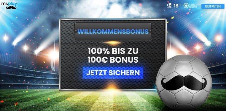 Mr Play Sportwetten Bonus