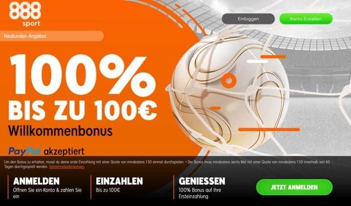 888Sport Bonus