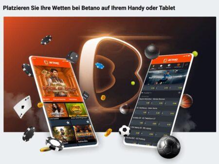 Betano App für iPhone und Android
