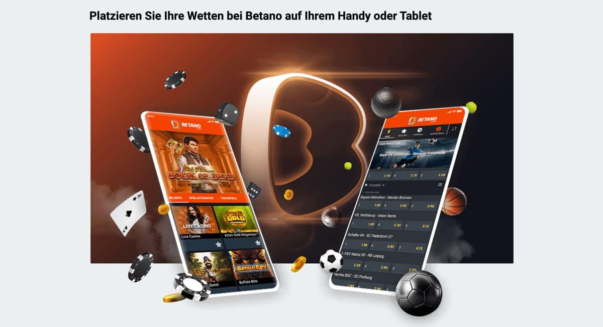 Betano Sportwetten App