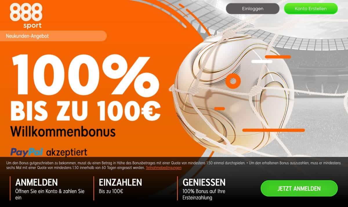 100 Bonus Sportwetten