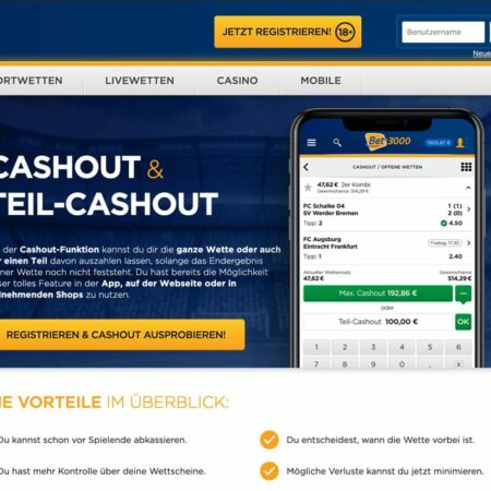 Cash-Out Wetten