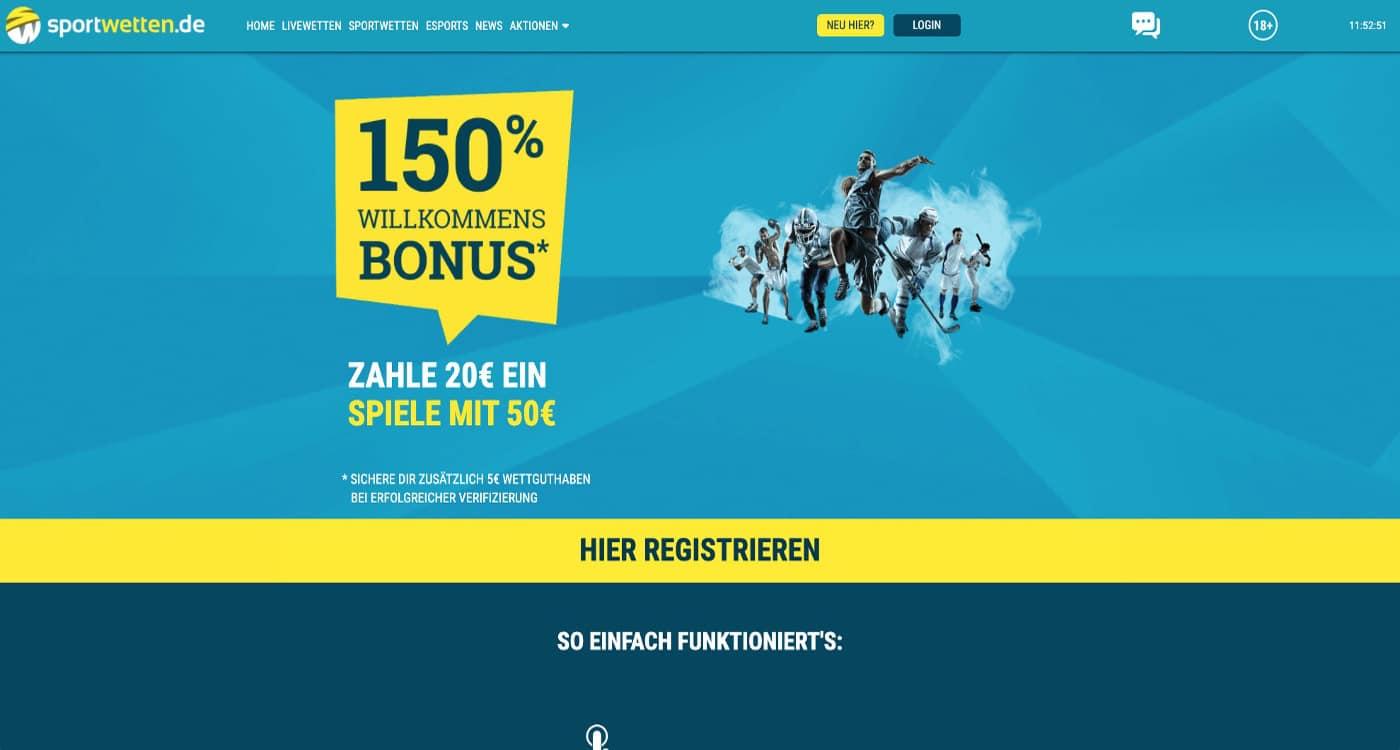 Sportwetten Bonus 2021