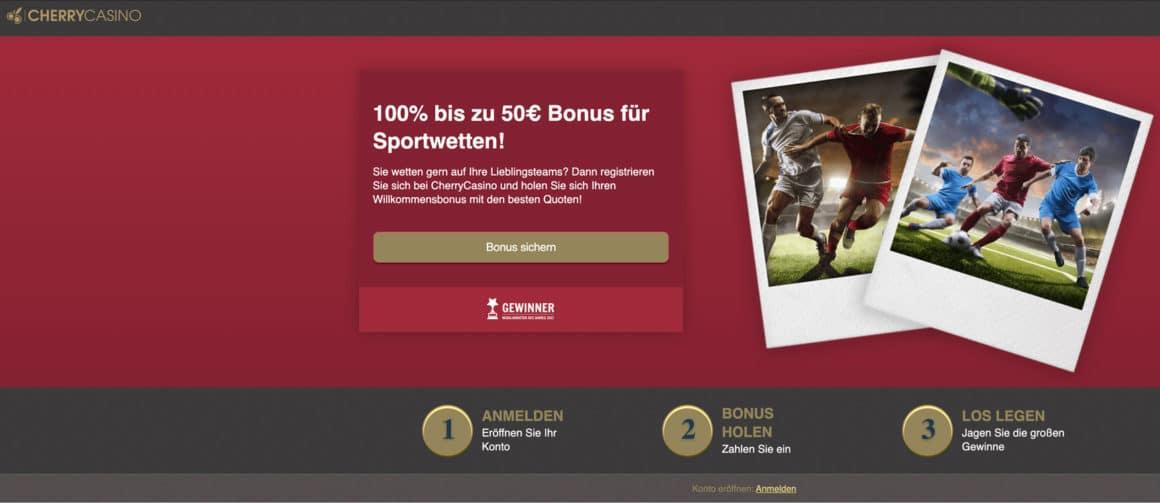 Cherry Automaten Sportwetten Bonus