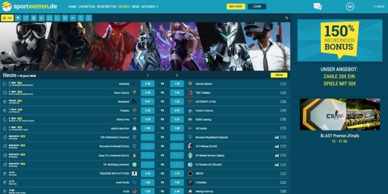 Sportwetten.de eSports