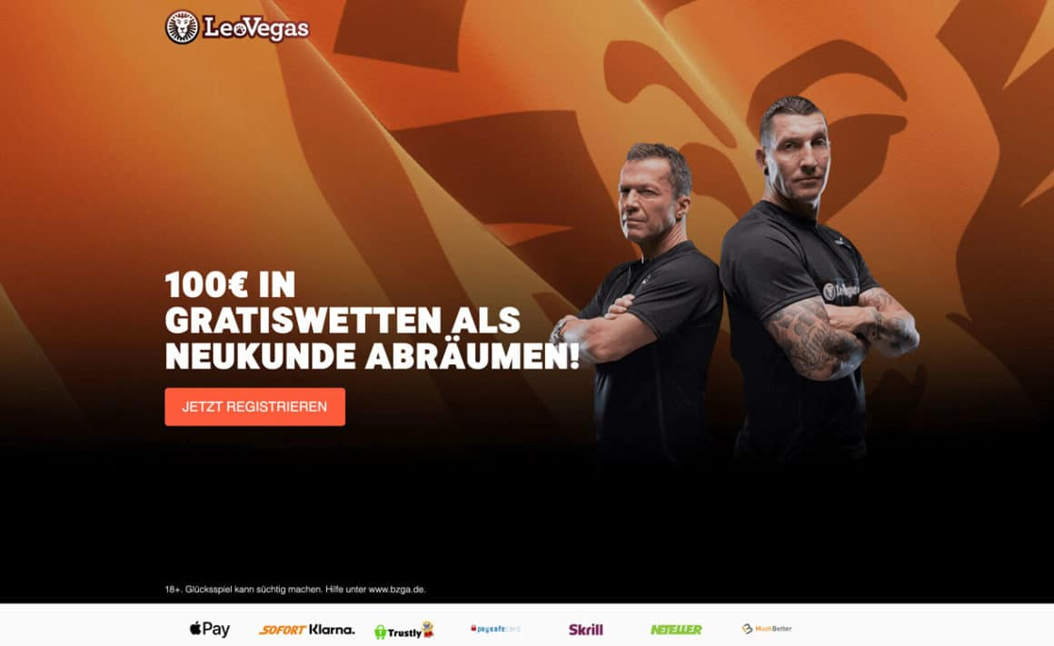 LeoVegas Sportwetten Bonus