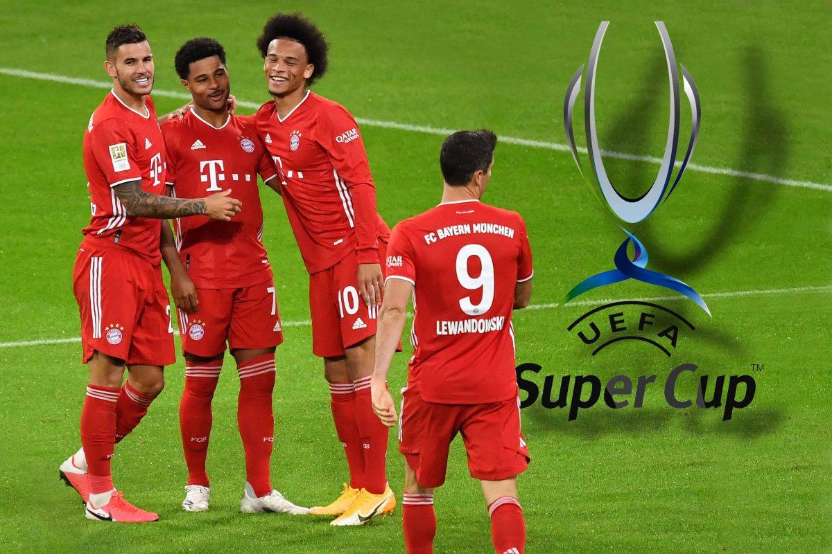 Vorschau zum UEFA Super Cup Finale FC Bayern Muenchen-FC Sevilla am 24.09.2020