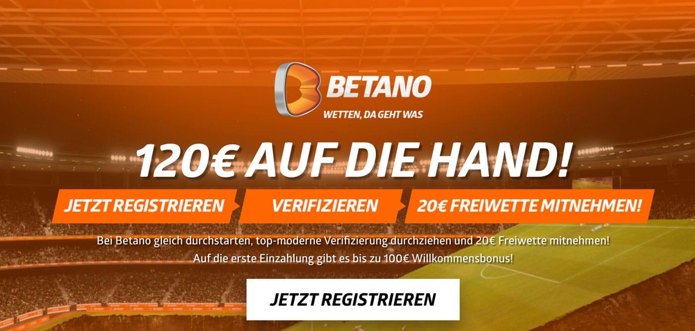 Betano Bonus 2021