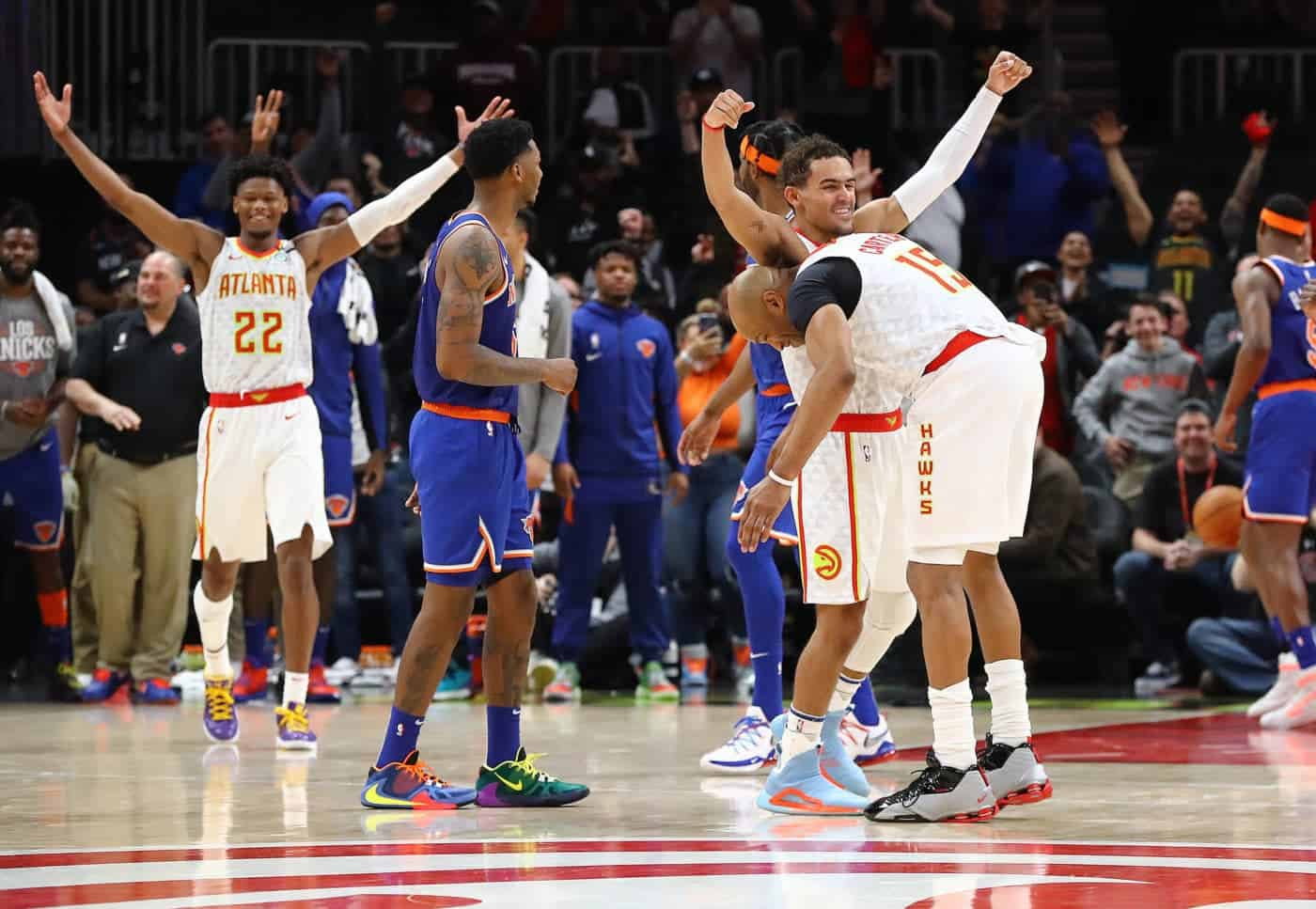 Atlanta Hawks gegen New York Knicks