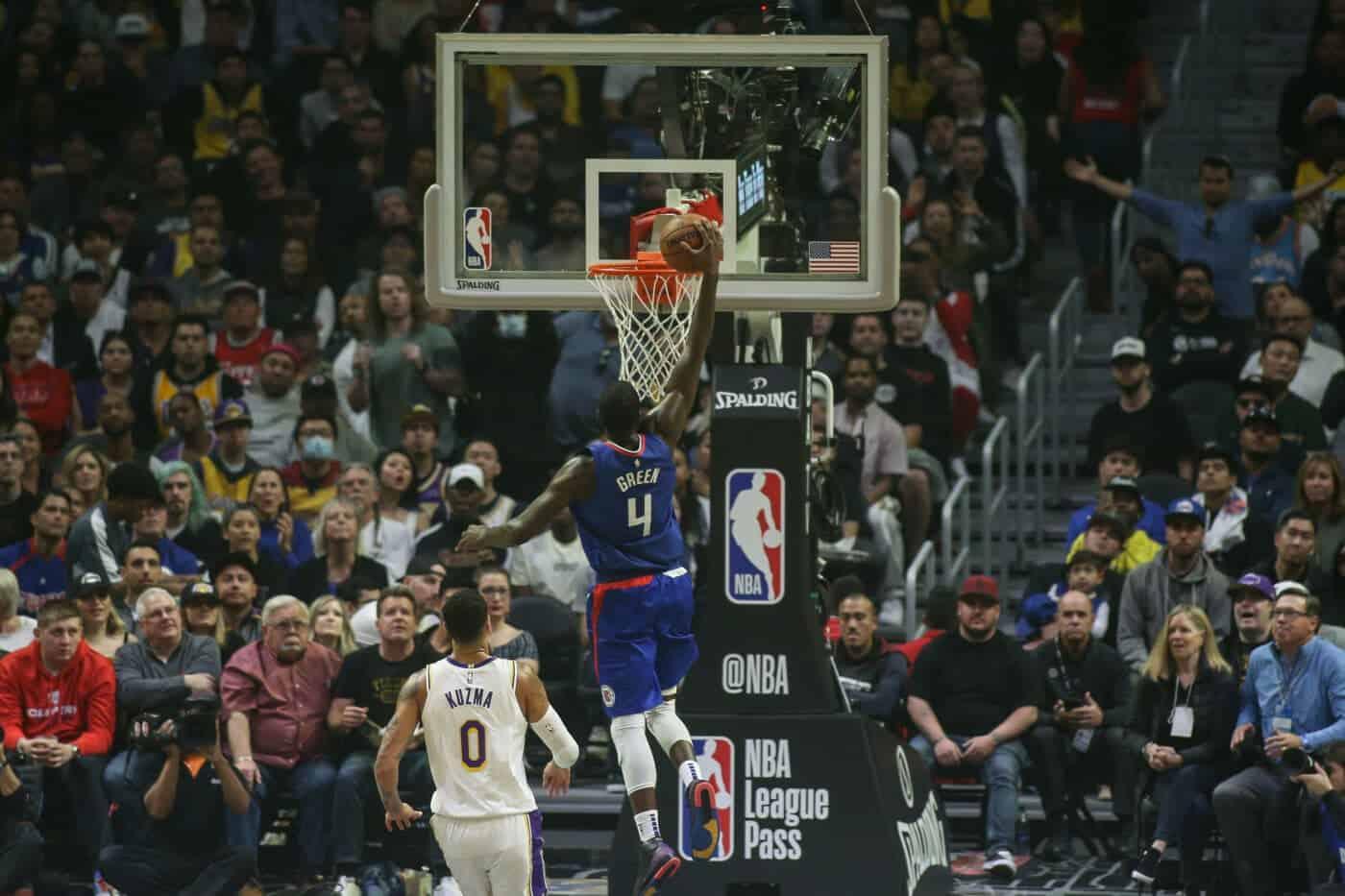 LA Clippers gegen LA Lakers