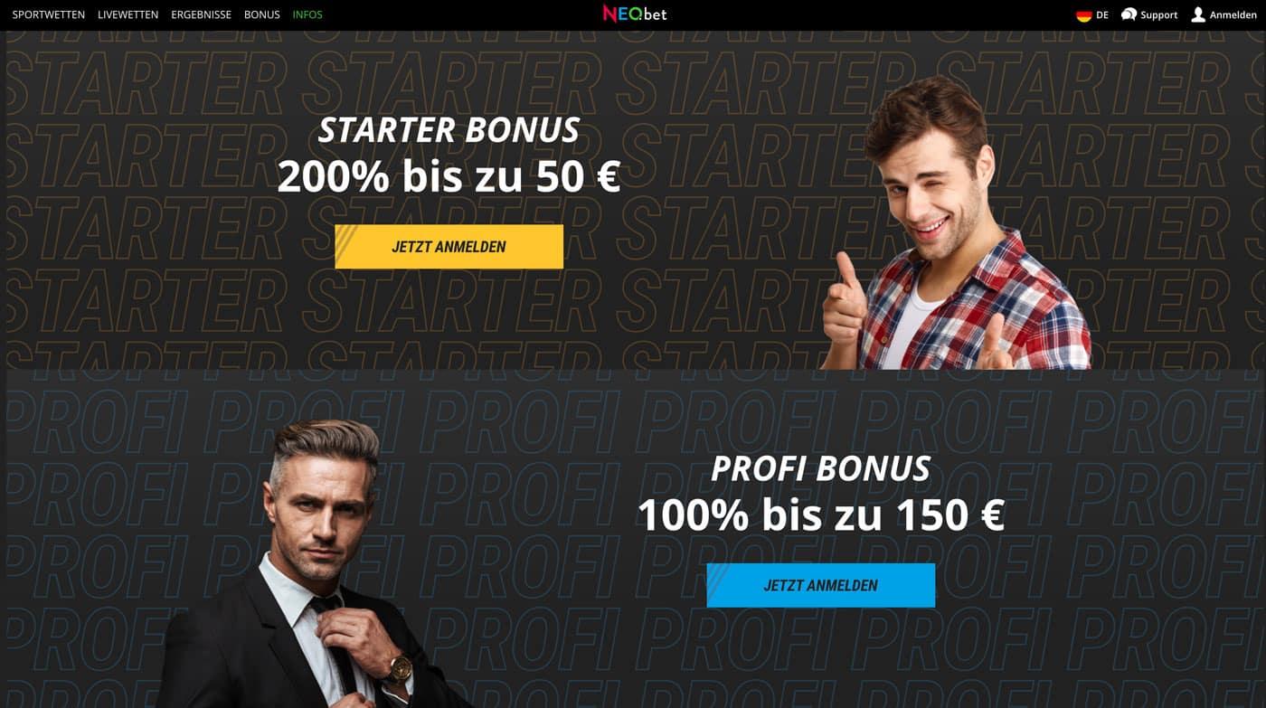 NEO.bet Bonus