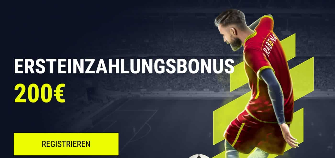 Rabona Sportwetten Bonus