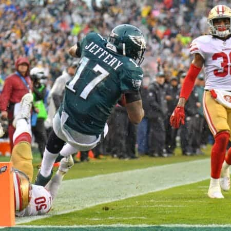 Philadelphia Eagles: Wide Receiver Alshon Jeffery droht Entlassung