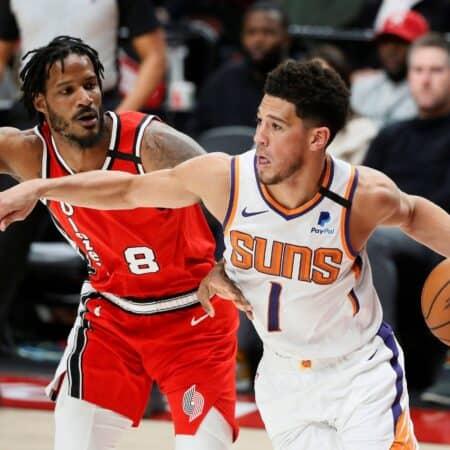 NBA All-Star Game: LeBron James verteidigt Devin Booker