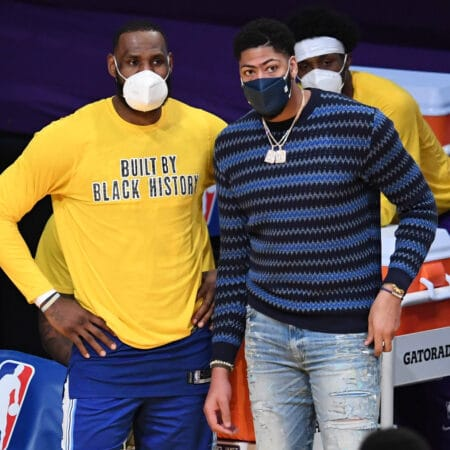Los Angeles Lakers: Anthony Davis drohen bis zu vier Wochen Pause