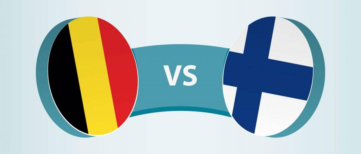 Belgien - Finnland EM 2021