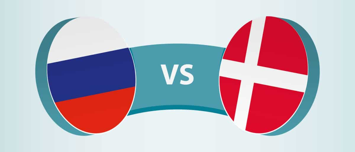 Russland - Dänemark EM 2021