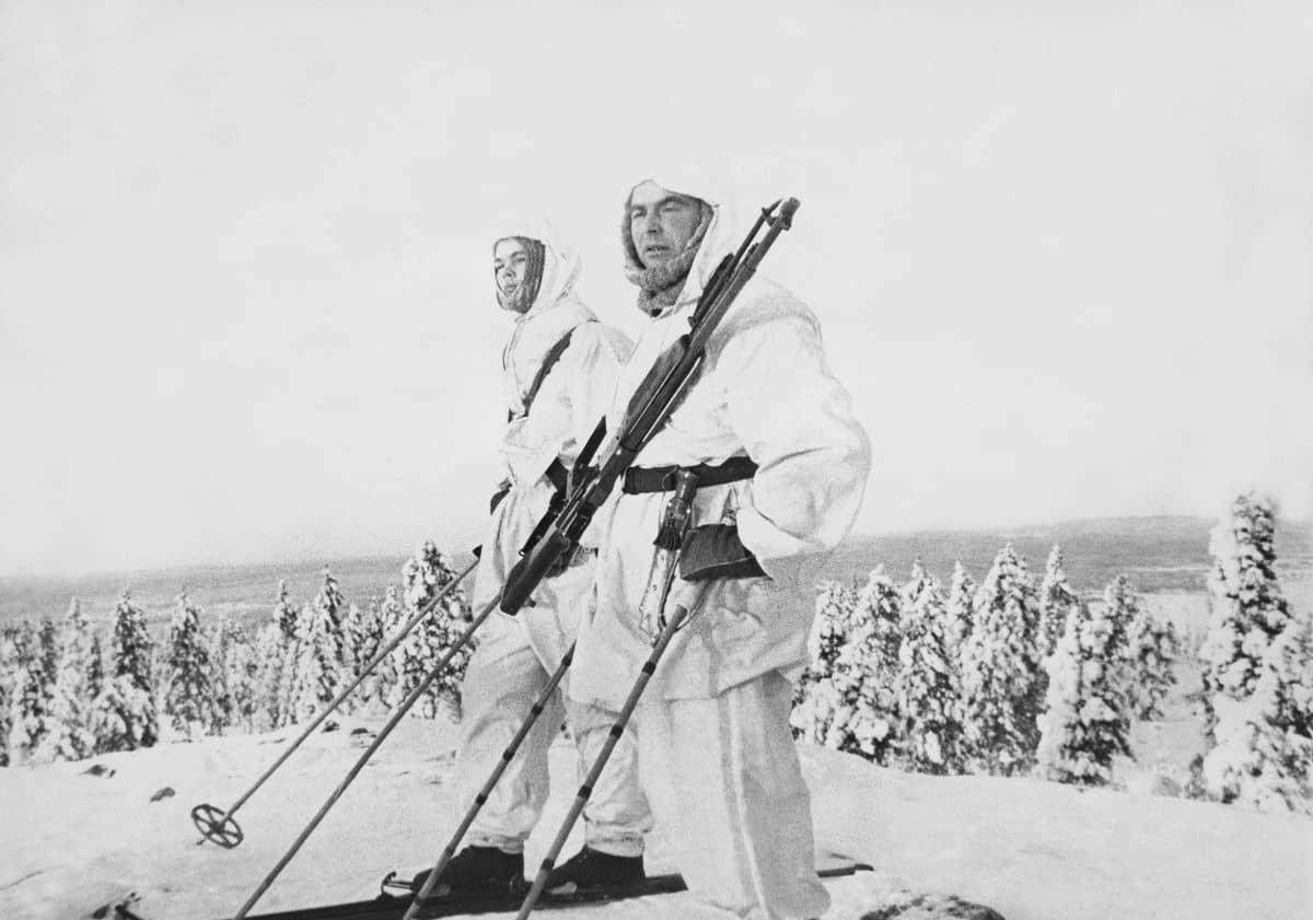 biathlon ski military