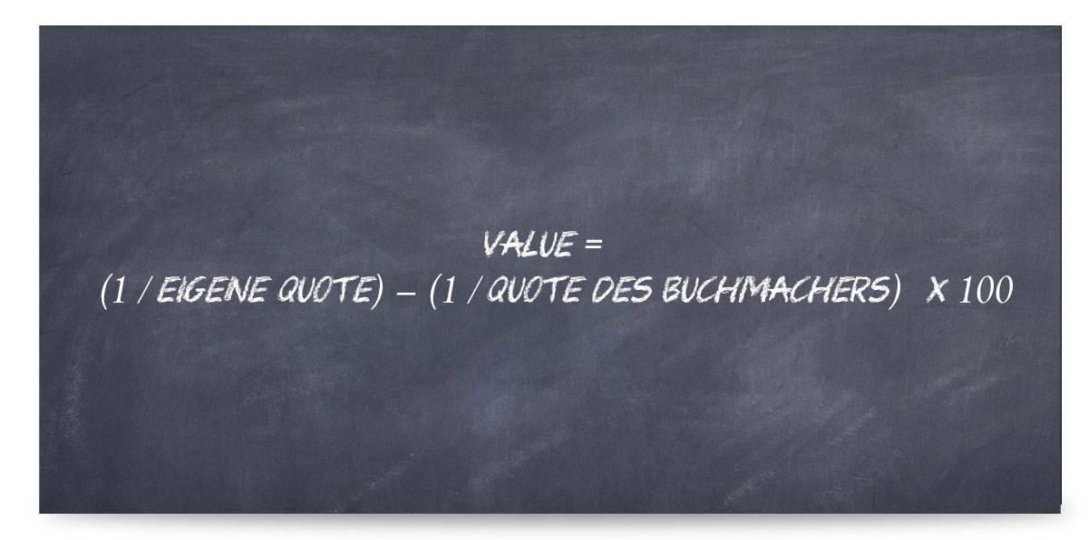 Value Sportwetten berechnen