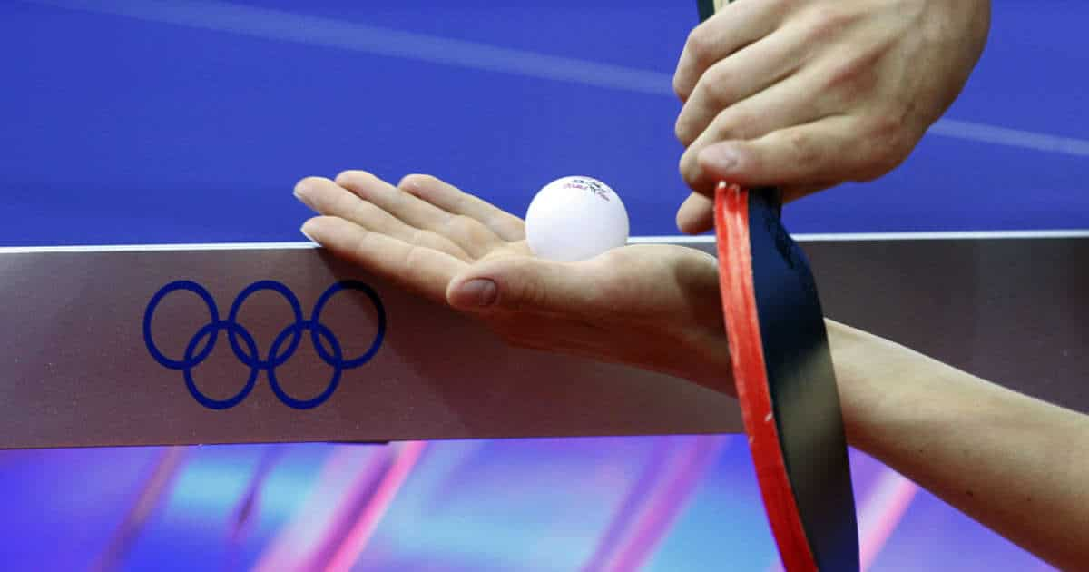 table tennis olympia