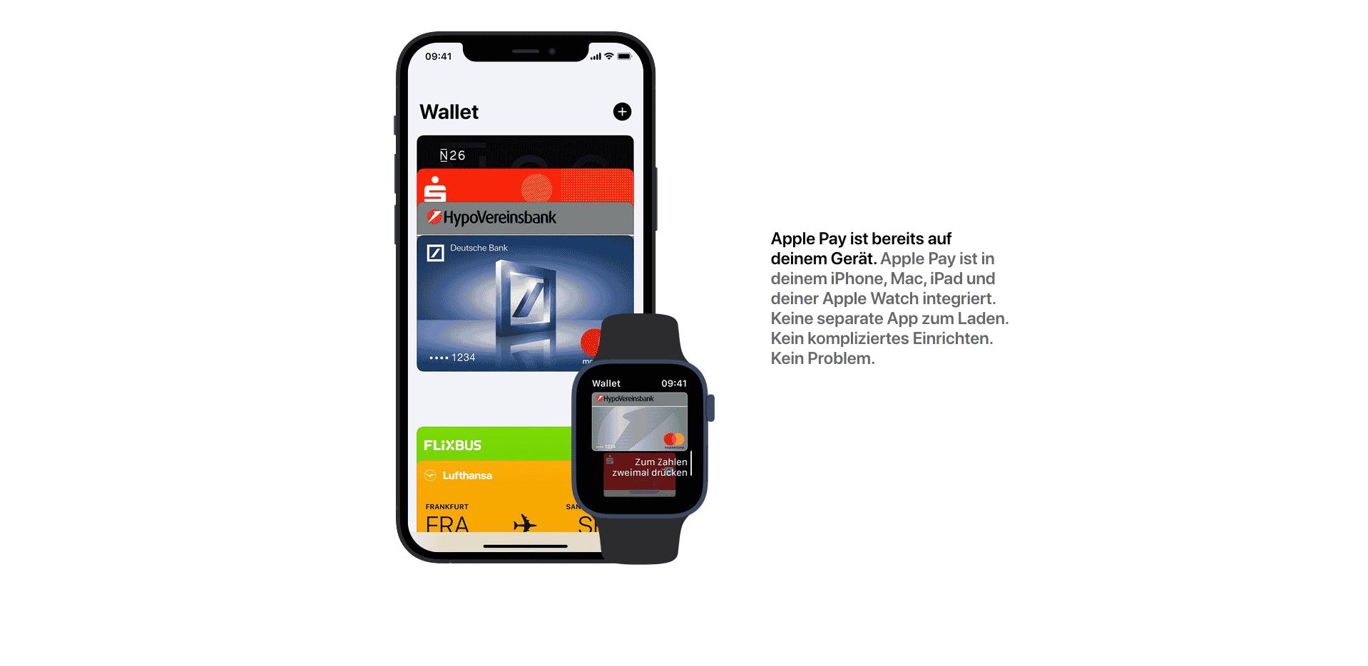 apple pay wallet hinzufügen